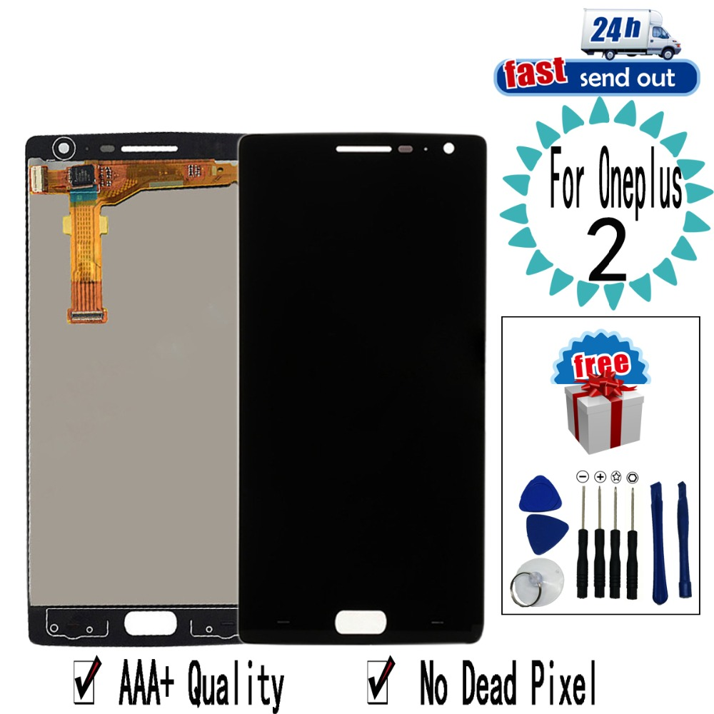 5.5'' LCD For <font><b>Oneplus</b></font> <font><b>2</b></font> LCD Display A2001 A2003 Touch <font><b>Screen</b></font> Digitizer Assembly <font><b>Replacement</b></font> For Oneplus2 image