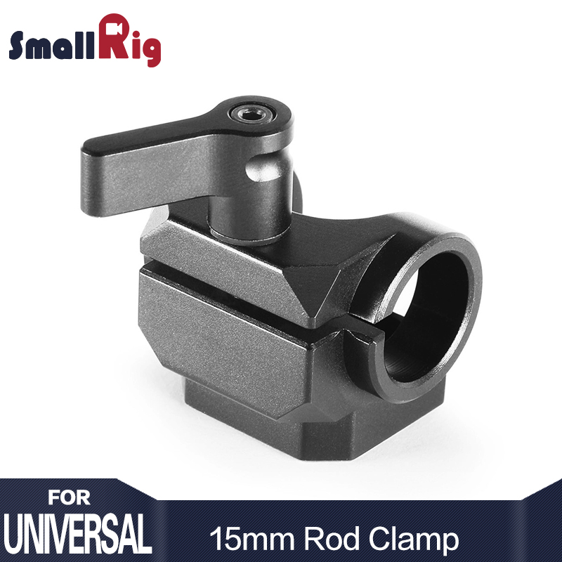 SmallRig 15mm Rod Clamp for Additional Accessory Mounting For Camera Microphone Or Monitor DIY Attachment 1995