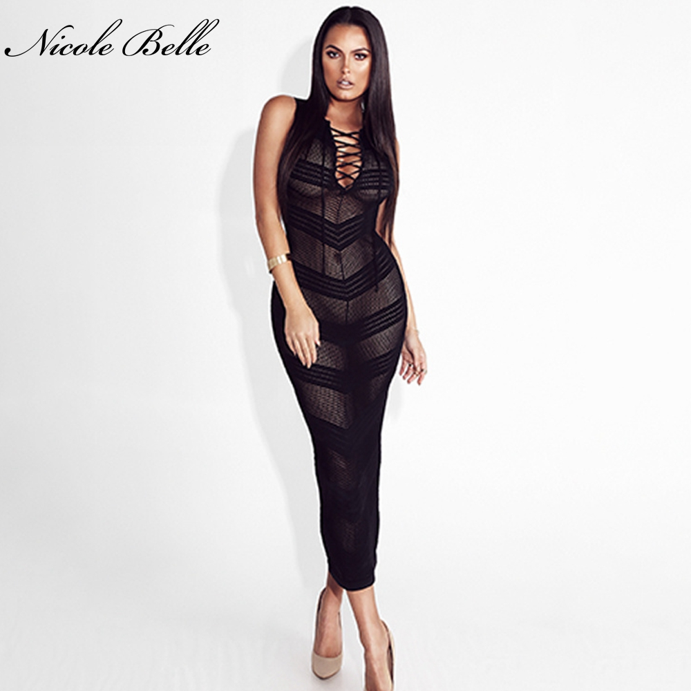 NICOLE BELLE 2018 New Arrived Sexy Fashion Black Red Lace Women\'s ...