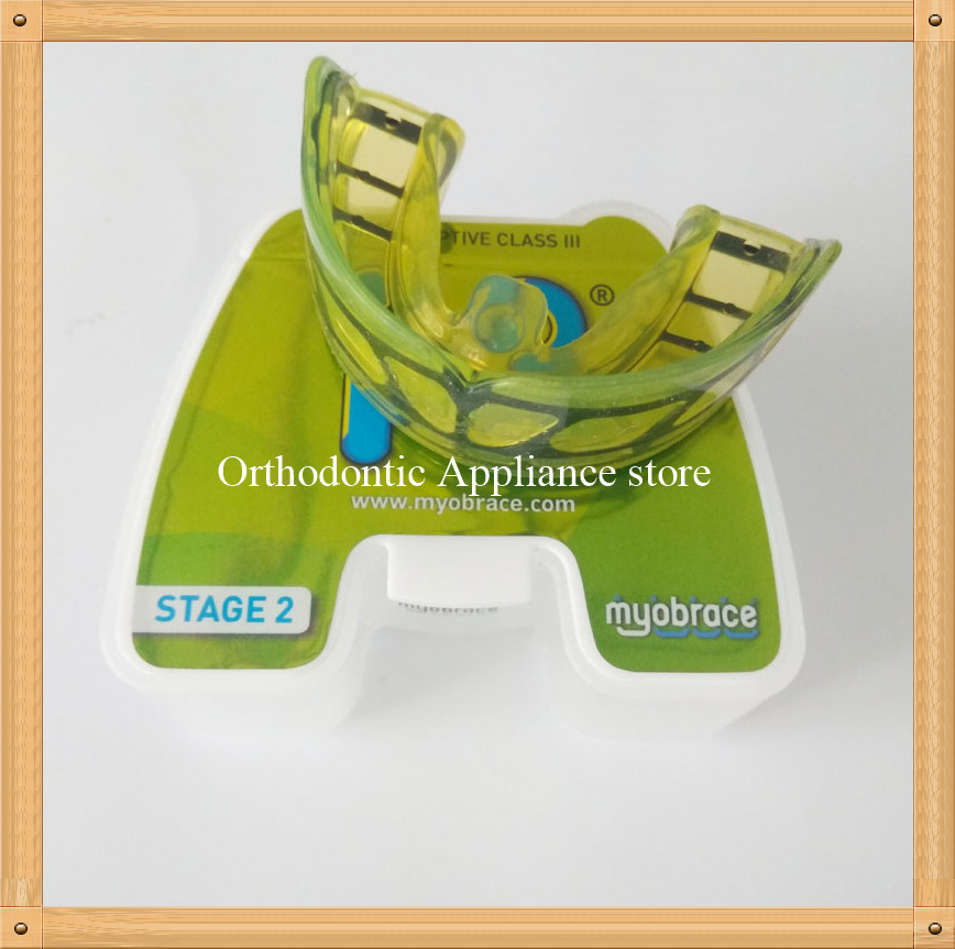 Myobrace Interceptive class III Orthodontic trainer I3/Anti-jaw Orthodontic brace stage 2/Dental trainer for ages 5-8 anti jaw orthodontic teeth trainer i3 mrc trainer appliance i3 for interceptive class iii i3 trainer for class iii correction