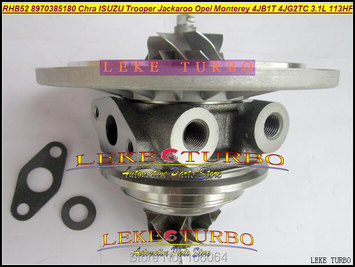 Картридж Turbo CHRA Core RHB52 VI95 8970385180 ГАЗОТУРБИННЫЙ нагнетатель воздуха для Isuzu Trooper Jackaroo для Opel Monterey 4JB1T 4JG2TC 3.1L