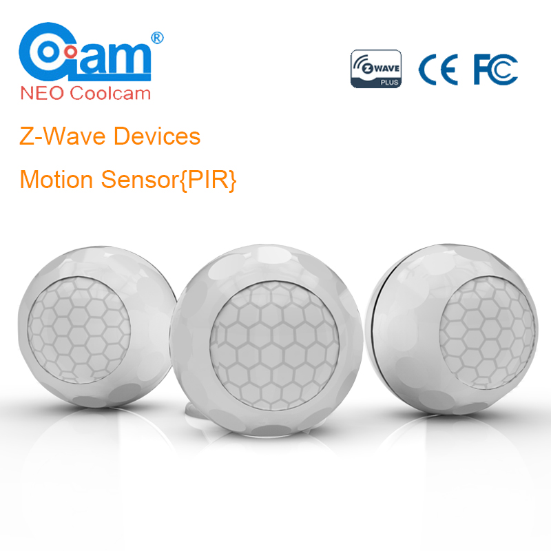 NEO COOLCAM Z-Wave Plus PIR Motion Sensor Detector Smart Home Z Wave Home Automation Alarm System Building Automation