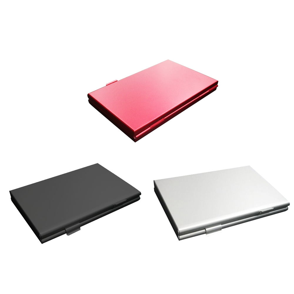 Aluminium Alloy EVAMicro For SD MMC TF Memory Card Storage Box Storage Box Case 6 SD Card