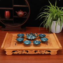 New 7pcs\set crafst porcelain kung fu tea set TuHao Bowl  sets 1 teapot+6 cup,chinese