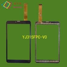 8 дюймов для DEXP Ursus TS180/Ginzzu GT-8010 rev.2, планшетный ПК, емкостный сенсорный экран, стеклянная панель дигитайзера