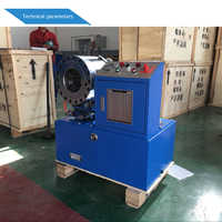 Free shipping To Russia 6mm to 51mm 4sp hydraulic hose pipe crimping machine with 10 sets of dies