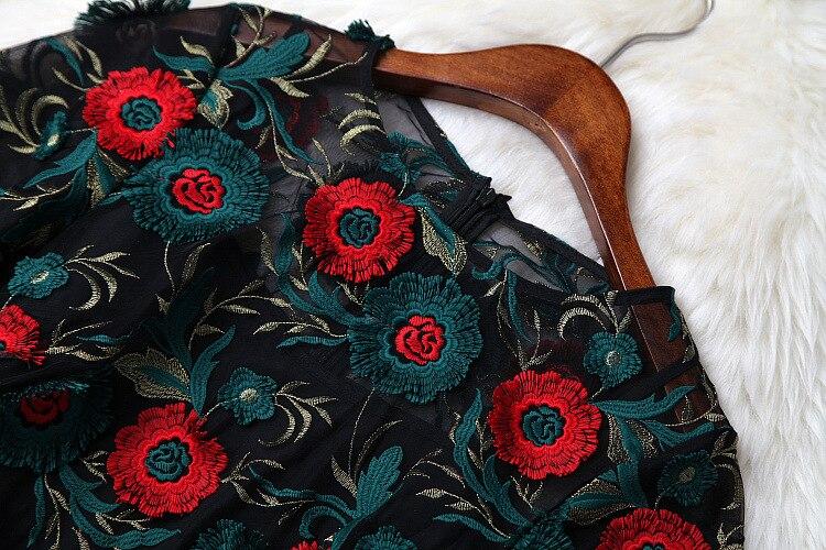 Di Design Nuove Alta Partito Famosa Fa02474 Del Modo Stile Qualità Europeo Donne 2019 Lusso Primavera Vestito Marca dCqFnw