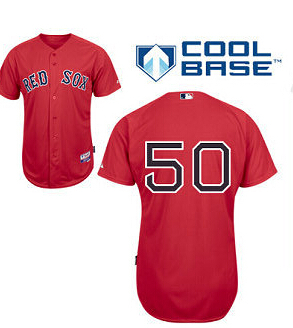 huge discount dd78b 75125 Mookie Betts Jersey 50# Boston Red Sox Red White Blue Gray ...