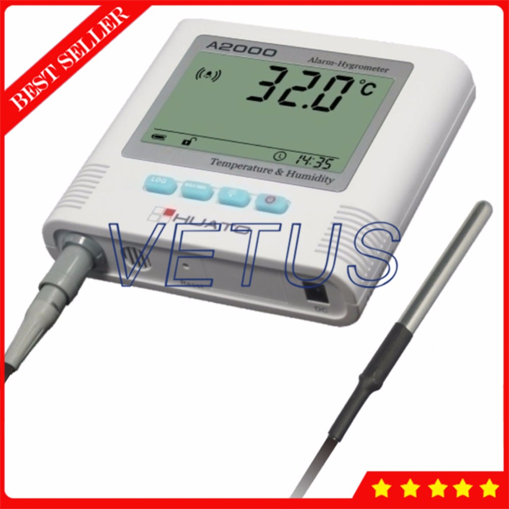 A2000-ET Digital Room Temperature Meter with -40~85C range External sensor agriculture restaurant school thermometer price цена