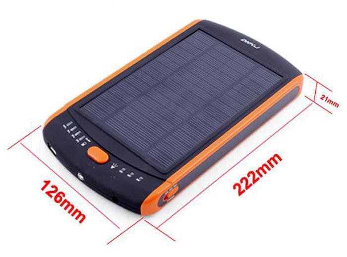 Portable solar laptop power bank 23000MAH Mobile phone universal mobile power supply Lithium polymer battery power bank DHL