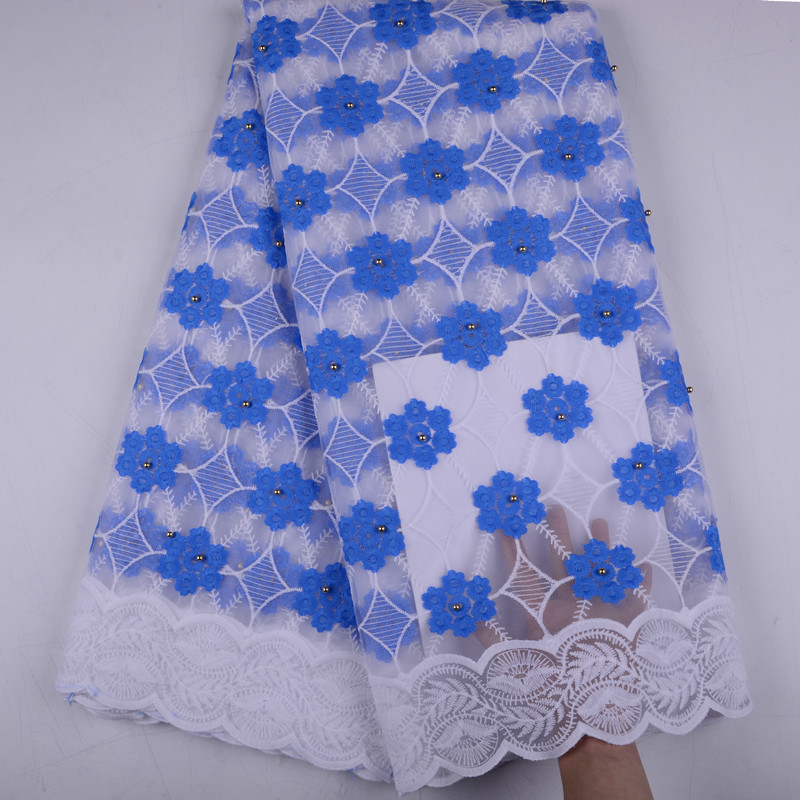 Wholesale Design Cotton Lace For Sewing Party Dress High Quality African French Lace Milk Silk Lace