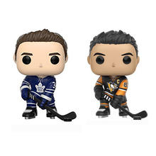 America ice hockey sport star action figures model Toronto Maple Leafs matthews Pittsburgh Penguins Sidney Crosby toy collection