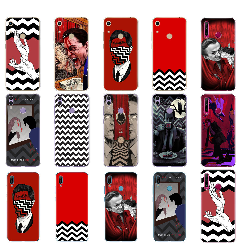 Case For Huawei Honor 8A PRO 8C 8X 10 i play case back cover for huawei Y5 Y6 Y7 Y9 2019 pro Prime Twin Peaks Fire Walk With Me