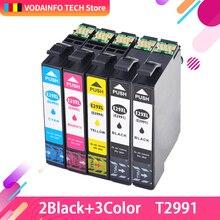 5PK 29XL T2991XL T2991 2992 2993Compatible Ink Cartridge for Epson Expression Home XP-235/XP-332/XP-335/XP-432/XP-435 printers