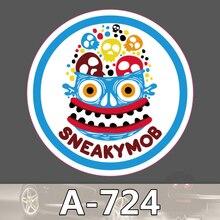 Bevle A-724 Hinterhältige Mob Wasserdichte Kühle DIY Aufkleber Für Laptop Gepäck Bike Refit Skateboard Auto Graffiti Cartoon Aufkleber