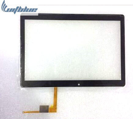 Witblue New For 10.1 inch Irbis TZ186 Tablet Capacitive touch screen panel Digitizer Glass Sensor replacement Free Shipping new touch screen 9 6for irbis tz93 tablet touch screen panel digitizer glass sensor free shipping