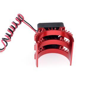 Image 4 - Радиатор двигателя SURPASSHOBBY 7014 с охлаждающим вентилятором 21000 об/мин для радиоуправляемого автомобиля 1/10 HSP, модифицированный 540 550 3650 3660 3670 3674 серии