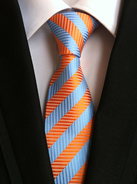 uusi muoti solmio miesten solmiot miehille vestido silkkiraita solmio - Vaatetustarvikkeet - Valokuva 4