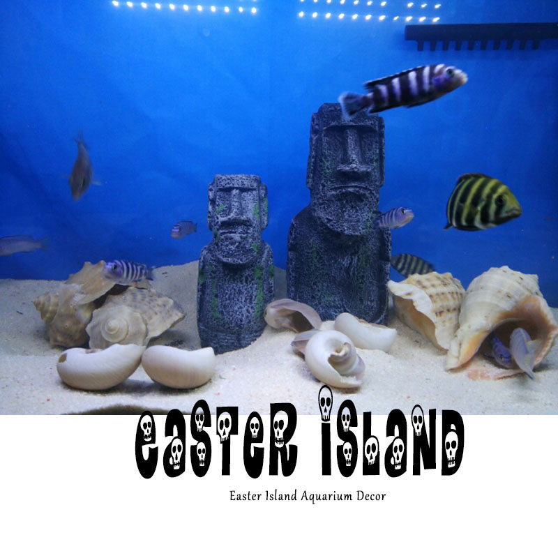 Popular easter island statues buy cheap easter island for Moai fish tank