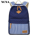 XQXA Canvas School Bags for Teenage Girls Printing Women Backpack Bag Casual Daypack School Backpacks for Teenagers Mochila