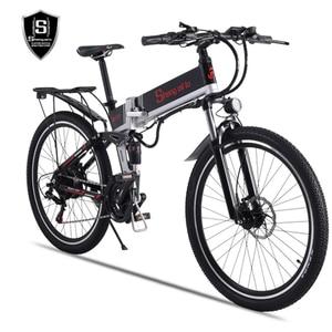 Image 4 - Новый электрический велосипед 48 в 500 Вт, вспомогательный горный велосипед, литиевый электрический велосипед, мопед, электрический велосипед, электровелосипед, электрический велосипед elec