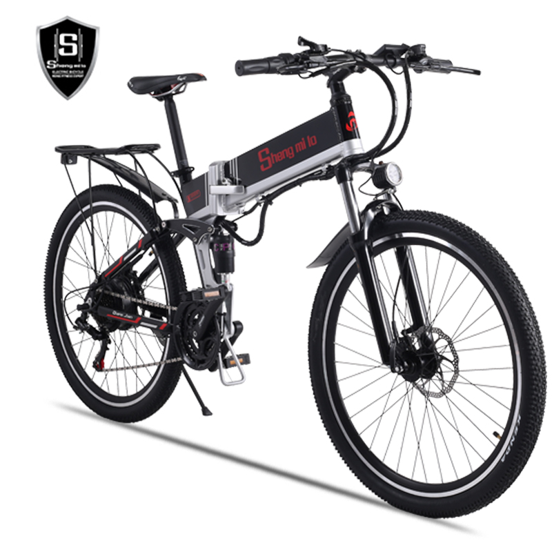 Image 4 - New electric bicycle 48V500W assisted mountain bicycle lithium electric bicycle Moped electric bike  ebike electric bicycle elecElectric Bicycle   -