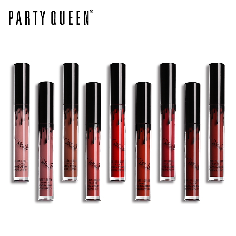 Party Queen Ultra Matte Velvet Läppstift Vätska Långvarig - Smink - Foto 3