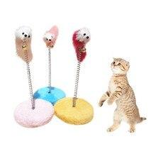 Новые Игрушки Животных Весенние Рамки Колокола Царапин Pad Сообщений Летающий Диск Нуля Доска Мышь Мяч Игрушка Пластина Кошка Палочки