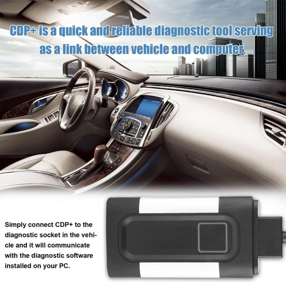 2018 Professionnel Auto Voiture TCS CDP Pro Plus Scanner pour autocom OBD2 Outil De Diagnostic avec 8 pcs Voiture Câbles De Diagnostic ensemble