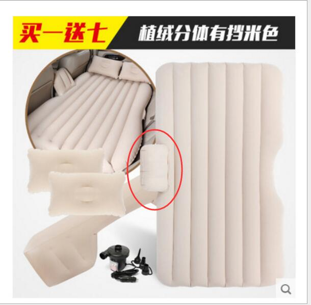 Updated version car bed Cushion Air bed Inflatable Travel Mattress Camping Universal SUV 5 colour betos car air mattress travel bed auto back seat cover inflatable mattress air bed good quality inflatable car bed for camping