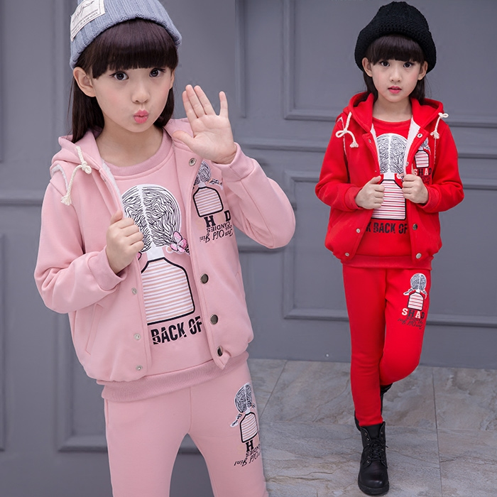 Children Winter Outerwear Suit New Arrival Children Winter Clothes Suit Baby Girl Winter Parkas Jacket+winter Pant 2 Pieces Suit baby winter outerwear