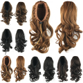 Cute Wavy Ponytails Synthetic Hair Ponytail Hair Extensions Ponytail Hairpieces Hair Bun