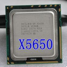 Оригинальный сервера x5650 шестиядерный 2.66 г поддерживает 1366 материнскую плату