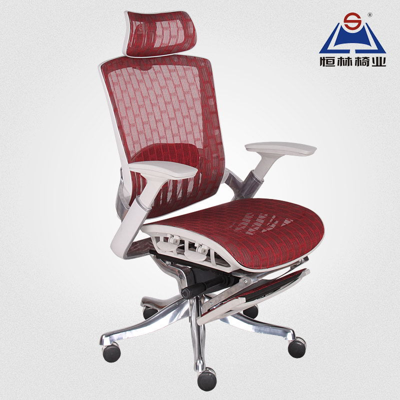 Office Chair With Footrest Ikayaa Mesh Ergonomic Office