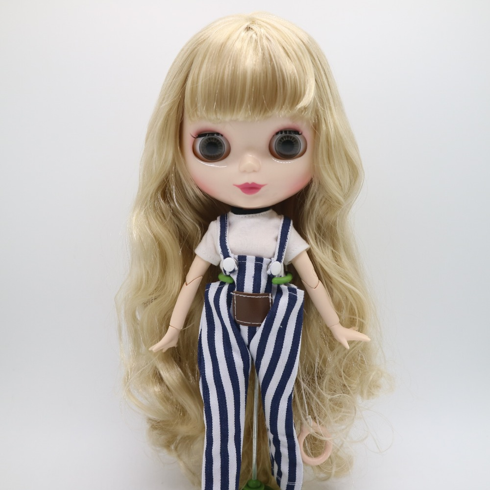 Dolls & Stuffed Toys Dolls Blyth Doll For Customized .30cm Height No.jgf 22 Lustrous Surface