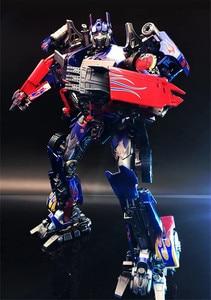 Image 5 - קומיקס מועדון INSTOCK BMB LS03F OP מפקד שינוי סרט MPM04 MPM 04 Oversize סגסוגת שרירים Diecast דמות רובוט צעצועים