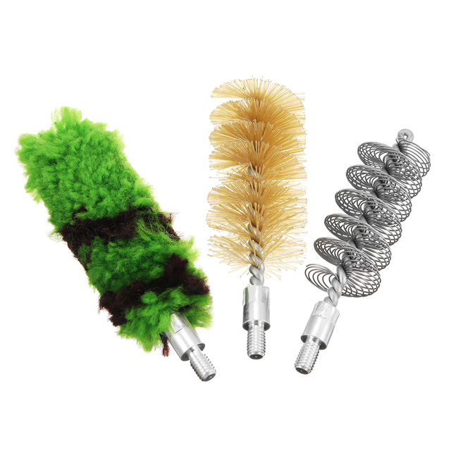 Professional Gun Cleaning Kit Tube Brush Head Clean Brush Tool Set For 12GA 16GA Gun Brush Tool Hunting Accessories