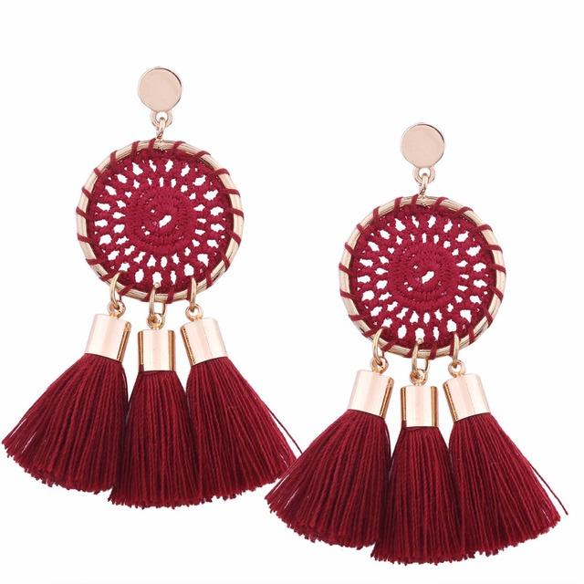 Boho Tassel Earrings for Women