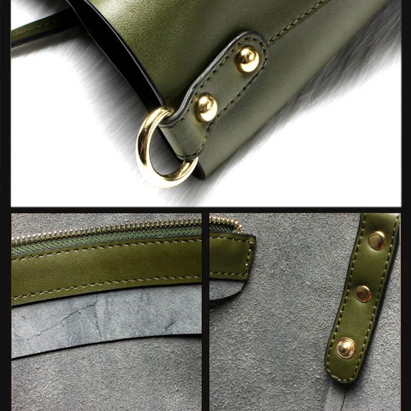 100% echt lederen tassen Vrouwelijke Beroemde merk Designer - Handtassen - Foto 6