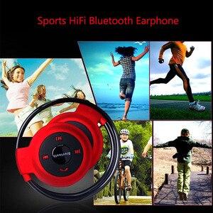 Image 5 - Aimitek Sport sans fil Bluetooth casque stéréo écouteurs Mp3 lecteur de musique casque écouteur Micro SD fente pour carte mains libres Micro