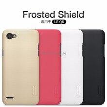 Для LG Q 6 q6a чехол LG q6 чехол Nillkin Super Frosted Shield жесткий матовая задняя крышка телефона чехол с бесплатная защита экрана