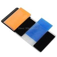 12 цветов гелевый фильтр рассеиватель для вспышки софтбокс Studio светофильтр камера Прямая доставка