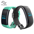 TTLIFE New DF30 Smart Bracelet Bluetooth 4.0 Heart Rate Monitor Blood Pressure/Oxygen Monitor Wristband IP68 Waterproof Watch
