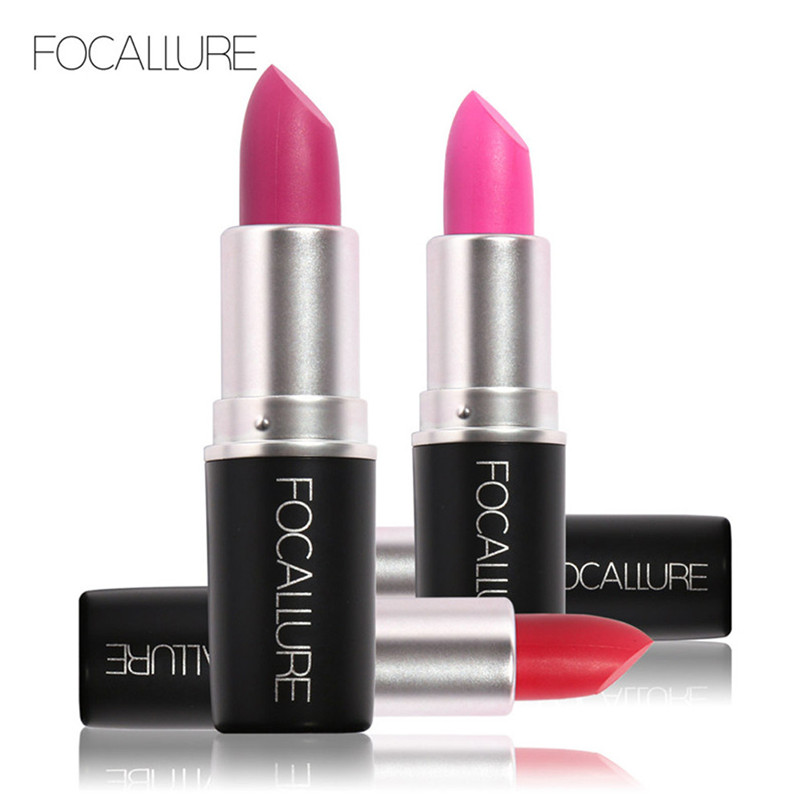 1PCS FOCALLURE Matte Lipstick Long-lasting Lipsticks Pigment Makeup Beauty Lips Nutritious wholesale Dec 21