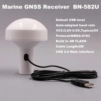 9600, USB driver,USB GNSS receiver M8030 Dual GPS GLONASS receiver