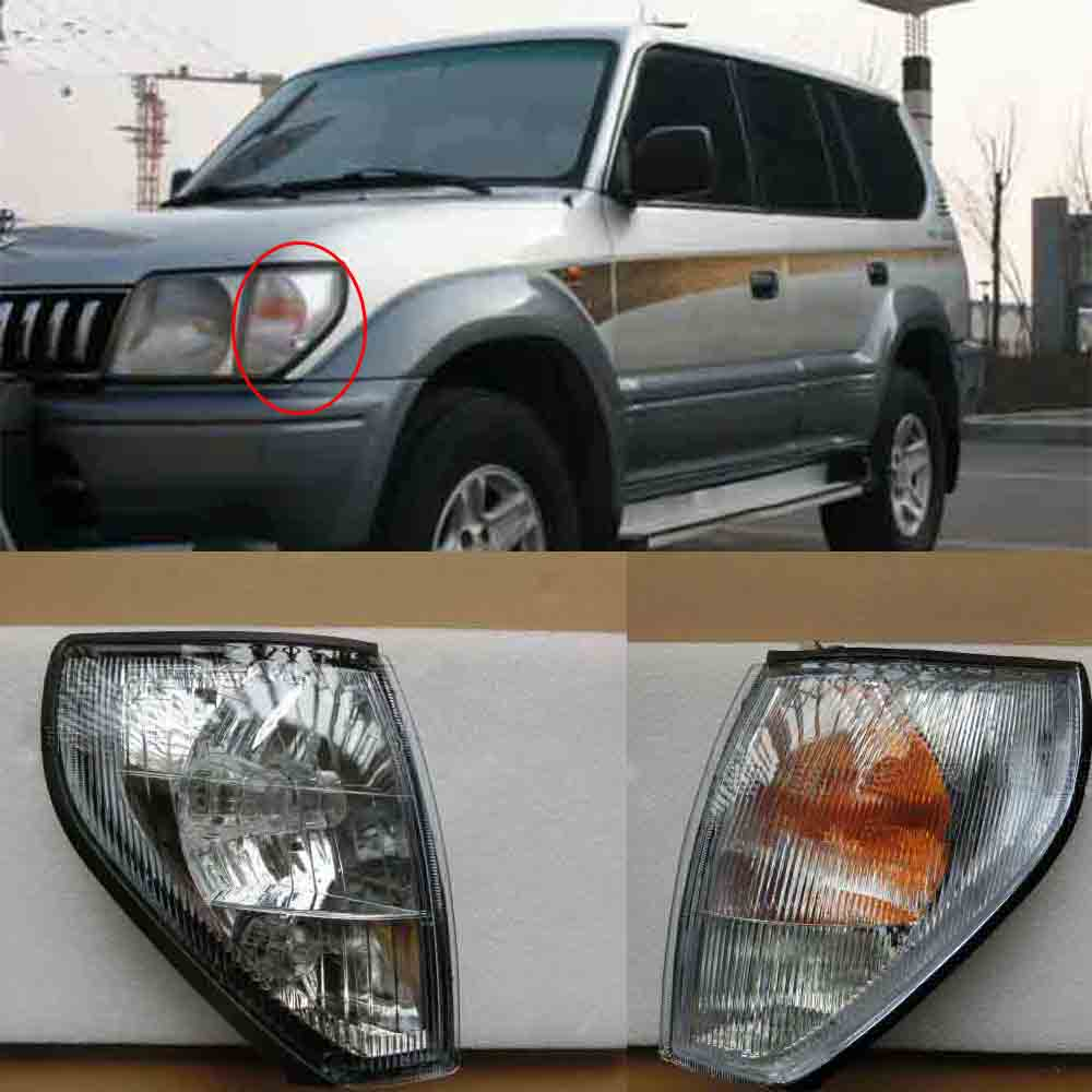 ФОТО Front Corner Turning Side Signal lights For Toyota Proda LC90 2700 3400 1997-2002