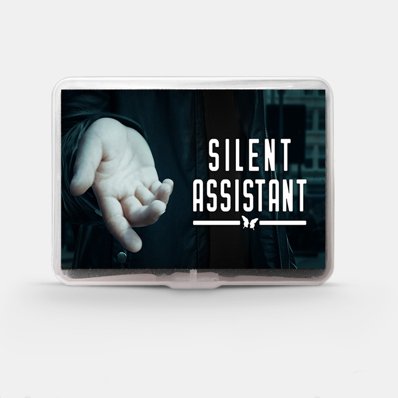Silent Assistant Magic Tricks PK Ring Function Magia Magician Stage Close Up Street Illusions Accessories Gimmick Prop Mentalism
