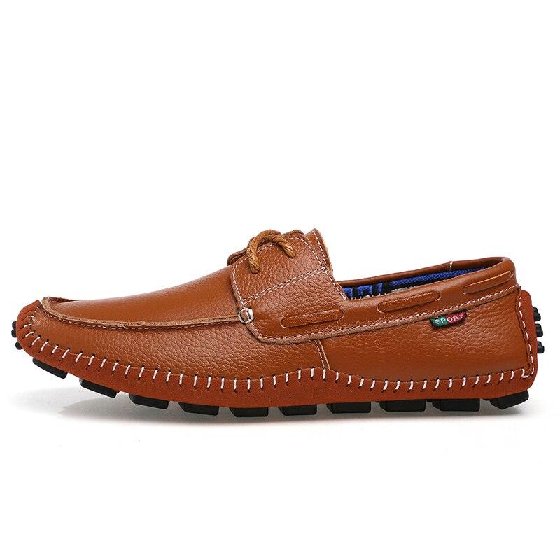 azul Sapatos Preto Sapatas Plus Genuíno Qualidade Casuais 38 Homens Hombre De 47 Couro Zapatos Size marrom Confortável Dos Alta Plana TqfOwUxCT