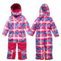 Winter Outdoor Children & Baby Girl Ski Suit Warm Winter Boys and Girls Thick Jumpsuit Baby Hooded Waterproof Jumpsuit