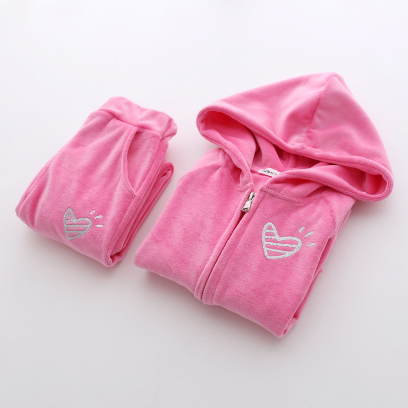 Tracksuit For Girls Clothing Sets Baby Girls Clothes 3 4 5 6 7 Years High Qulity Long Sleeve Sport Suit Outfits Costume For Kids